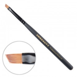 Pensula pentru gel 2M Black Beauty din par natural One Stroke nr. 01